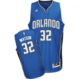 Hombre Camiseta C.J. Watson #32 Orlando Magic Adidas Road Azul real Swingman