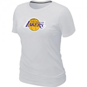 T-Shirts NBA Big & Tall Blanco - Los Angeles Lakers - Mujer