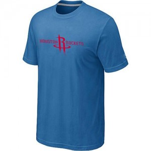 T-Shirts Houston Rockets Big & Tall Azul claro - Hombre