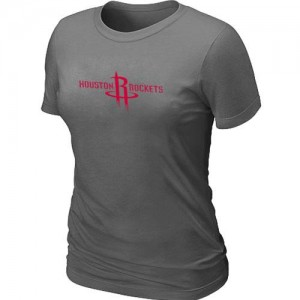T-Shirts Houston Rockets Big & Tall Gris oscuro - Mujer