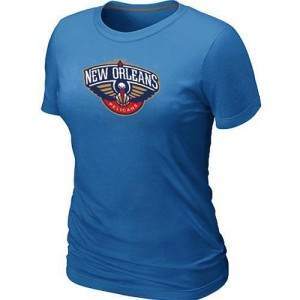 T-Shirt Primary Logo Mujer NBA New Orleans Pelicans Big & Tall Azul claro