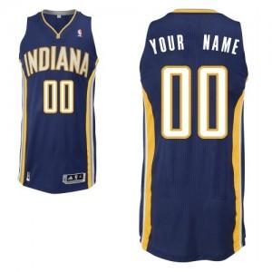 Camiseta NBA Road Indiana Pacers Azul marino - Adolescentes - Personalizadas Authentic