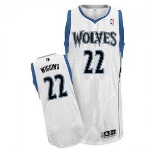 Minnesota Timberwolves Adidas Home Blanco Authentic Camiseta de la NBA - Andrew Wiggins #22 - Hombre