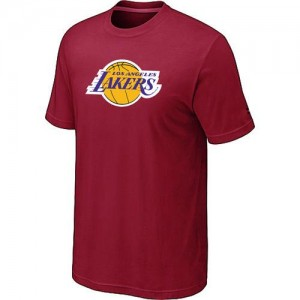 T-Shirts NBA Big & Tall Rojo - Los Angeles Lakers - Hombre