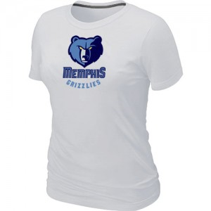 T-Shirts NBA Memphis Grizzlies Big & Tall Blanco - Mujer