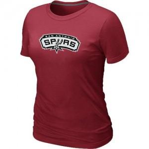 Mujer T-Shirts San Antonio Spurs Big & Tall Rojo