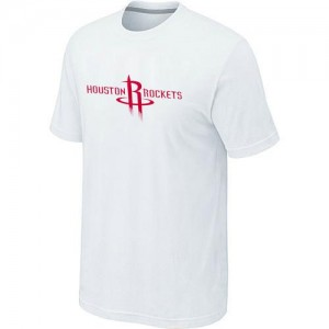 T-Shirts Houston Rockets Big & Tall Blanco - Hombre
