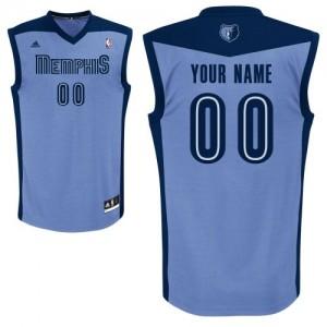 Camisetas Baloncesto Mujer NBA Memphis Grizzlies Alternate Authentic Personalizadas Azul claro