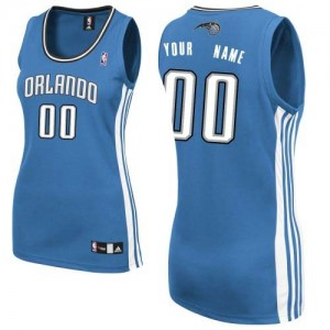 Camiseta NBA Authentic Personalizadas Road Azul real - Orlando Magic - Mujer