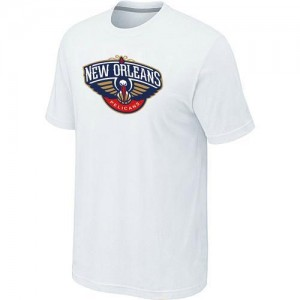 T-Shirts NBA Big & Tall New Orleans Pelicans Blanco - Hombre