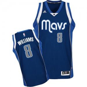 Dallas Mavericks Adidas Alternate Azul marino Swingman Camiseta de la NBA - Deron Williams #8 - Hombre