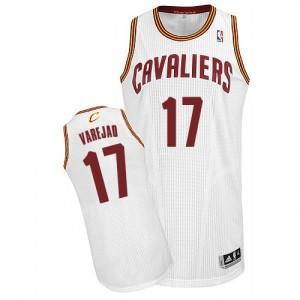 Camiseta NBA Home Cleveland Cavaliers Blanco Authentic - Hombre - #17 Anderson Varejao