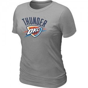 T-Shirts NBA Oklahoma City Thunder Big & Tall Gris - Mujer