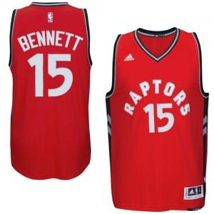 Camisetas Baloncesto Hombre NBA Toronto Raptors climacool Swingman Anthony Bennett #15 Rojo