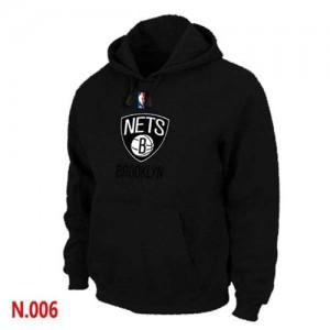 Brooklyn Nets Negro Sudadera de la NBA - Hombre