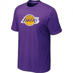 T-Shirts NBA Big & Tall Púrpura - Los Angeles Lakers - Hombre