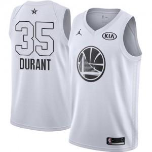Hombre Camiseta Kevin Durant #35 Golden State Warriors Jordan 2018 All-Star Game Blanco Swingman