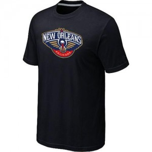 T-Shirts NBA Big & Tall New Orleans Pelicans Negro - Hombre