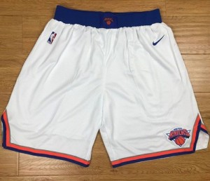 Pantalones New York Knicks Blanco Swingman - Hombre
