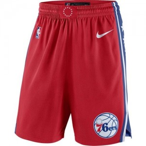 Pantalones Statement Swingman rojo - Philadelphia 76ers - Hombre
