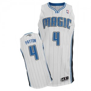 Camiseta NBA Home Orlando Magic Blanco Authentic - Hombre - #4 Elfrid Payton