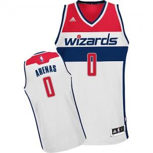 Camiseta NBA Home Washington Wizards Blanco Swingman - Hombre - #0 Gilbert Arenas