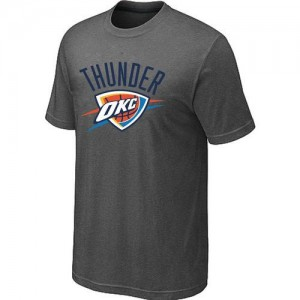 T-Shirts NBA Oklahoma City Thunder Big & Tall Gris oscuro - Hombre