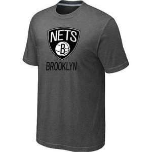 T-Shirts NBA Big & Tall Brooklyn Nets Gris oscuro - Hombre