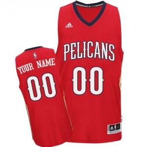 Camiseta NBA Swingman Personalizadas Alternate Rojo - New Orleans Pelicans - Adolescentes