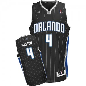 Camiseta NBA Alternate Orlando Magic Negro Swingman - Hombre - #4 Elfrid Payton