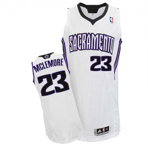 Camiseta NBA Sacramento Kings Ben McLemore #23 Home Adidas Blanco Authentic - Hombre