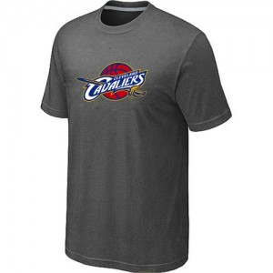 T-Shirt Primary Logo Hombre NBA Cleveland Cavaliers Big & Tall Gris oscuro