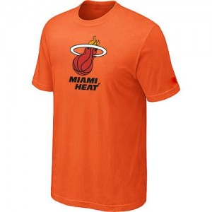 Hombre T-Shirts Miami Heat Big & Tall naranja