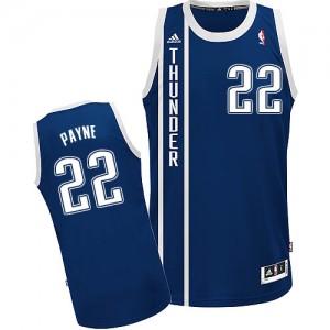 Camiseta Swingman Cameron Payne #22 Oklahoma City Thunder Alternate Azul marino - Hombre