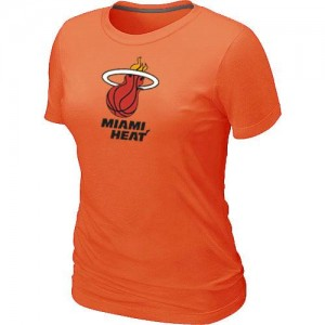 Miami Heat Big & Tall naranja T-Shirts de la NBA - Mujer