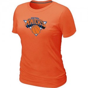T-Shirts NBA New York Knicks Big & Tall naranja - Mujer