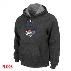 Sudadera NBA Oklahoma City Thunder Gris oscuro - Hombre