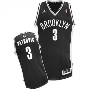 Camisetas Baloncesto Hombre NBA Brooklyn Nets Road Swingman Drazen Petrovic #3 Negro