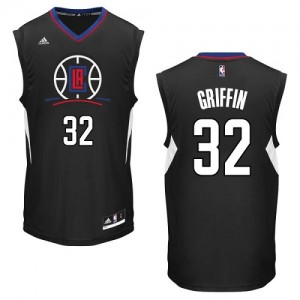 Camisetas Baloncesto Hombre NBA Los Angeles Clippers Alternate Authentic Blake Griffin #32 Negro