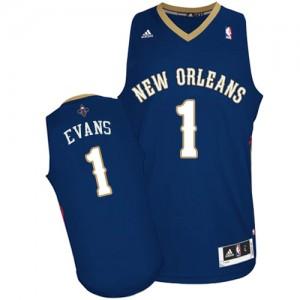 Camiseta NBA Swingman Tyreke Evans #1 Road Azul marino - New Orleans Pelicans - Hombre